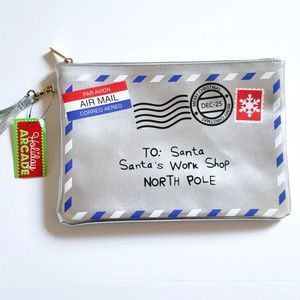 NWT XM Letter from Santa Wristlet